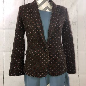 Cartonnier 23rdSt. Brown And Pink Career Blazer XL